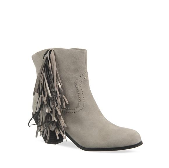 e1563829210a99 DONATING SOON Sam Edelman Louie 7 grey fringe boot.  M 5a80804a45b30c88ed9ec9cf